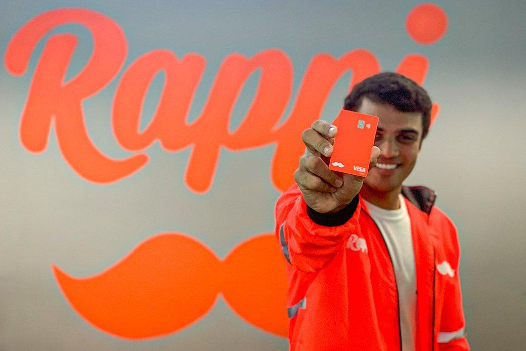Novo cartão pré-pago do Rappi