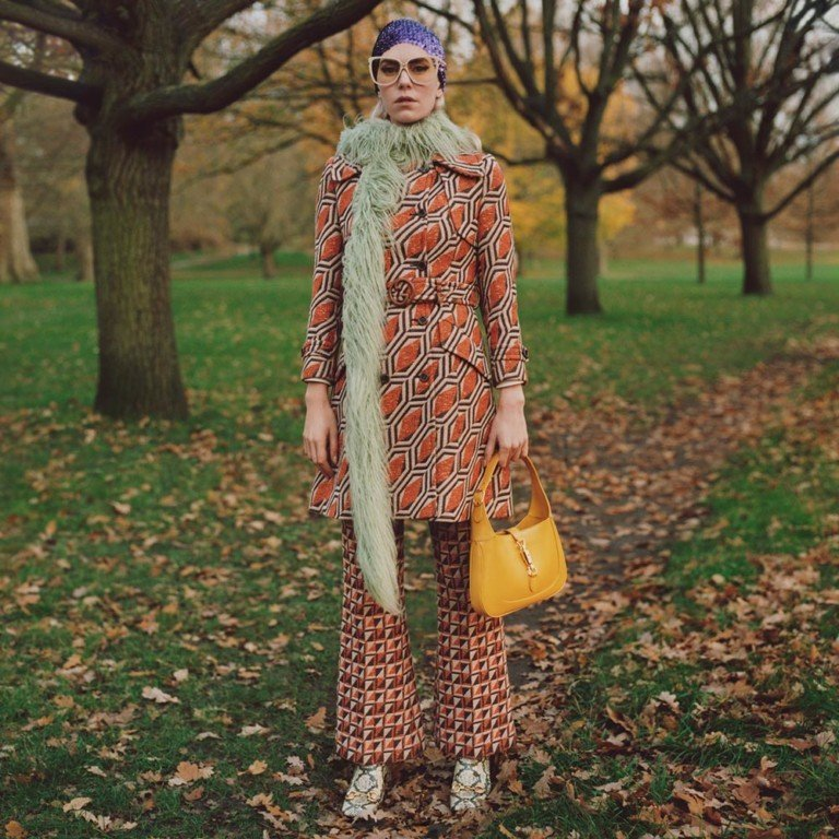 """vanessa gucci1 In """"Winter in the Park"""", Gucci brings nature and classic pieces to the new campaign"""