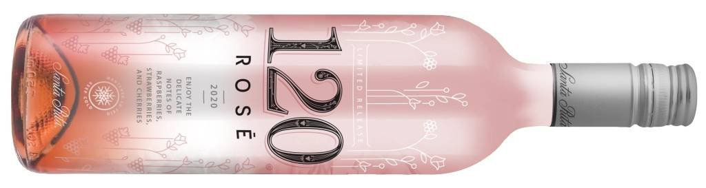 120 Rosé Termo mockup ing Winery launches rosé with packaging that changes color when the wine is at the ideal temperature