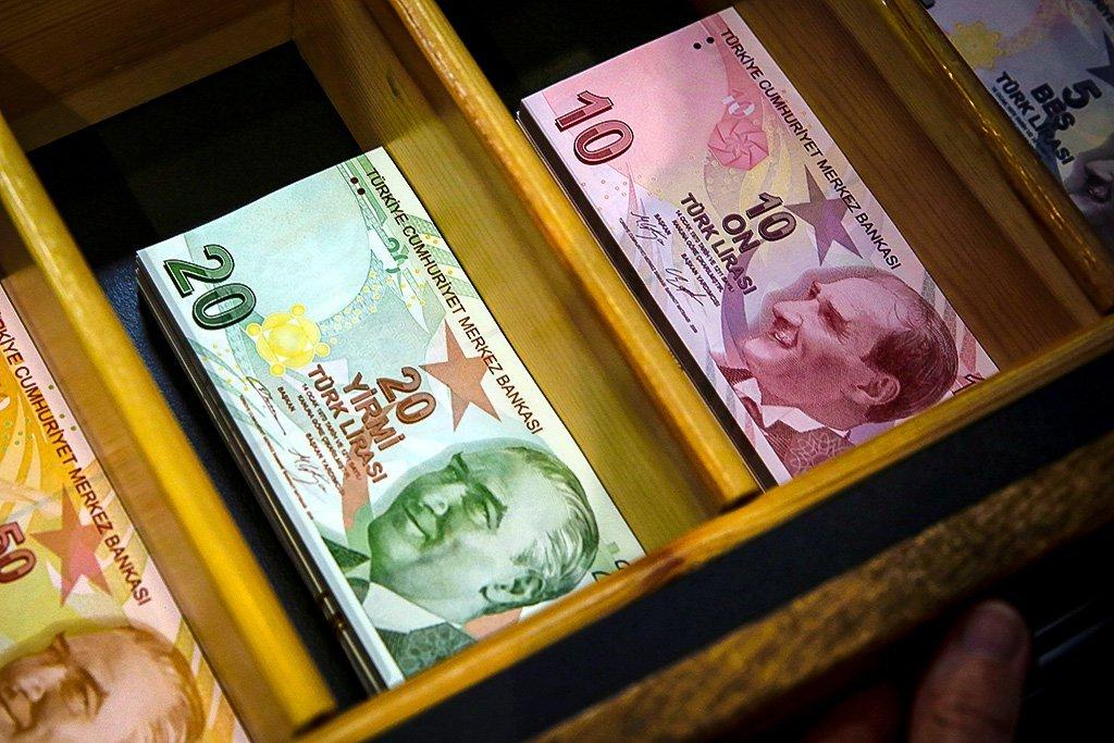 Dinheiro da Turquia, lira turca