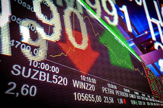 Bolsa fundos sacam 31 bilhões em ações
