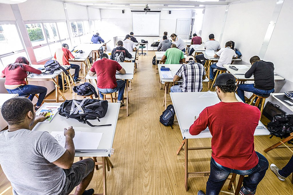 Faculdade; Kroton; Pitágoras; Ensino Superior; Educação; Privada Foto: Germano Lüders 16/04/2014 Sorocaba/SP