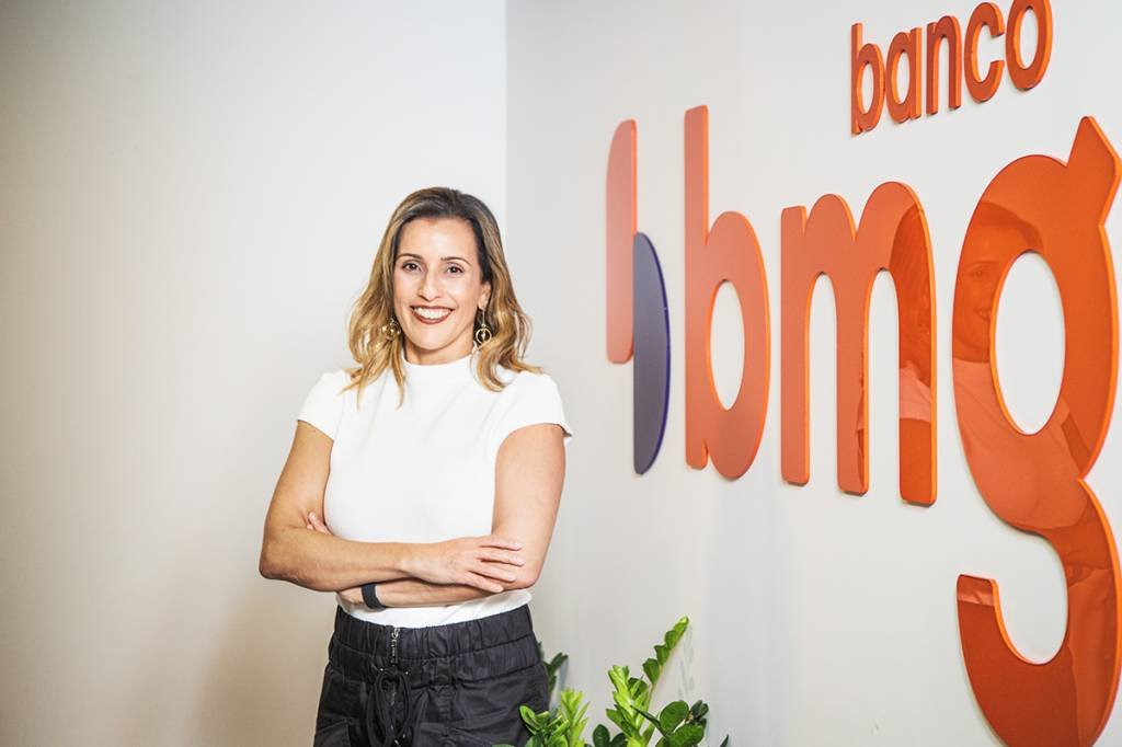 Ana Karina Bortoni Dias - Presidente do Banco BMG Foto: Leandro Fonseca data: 25/02/2021