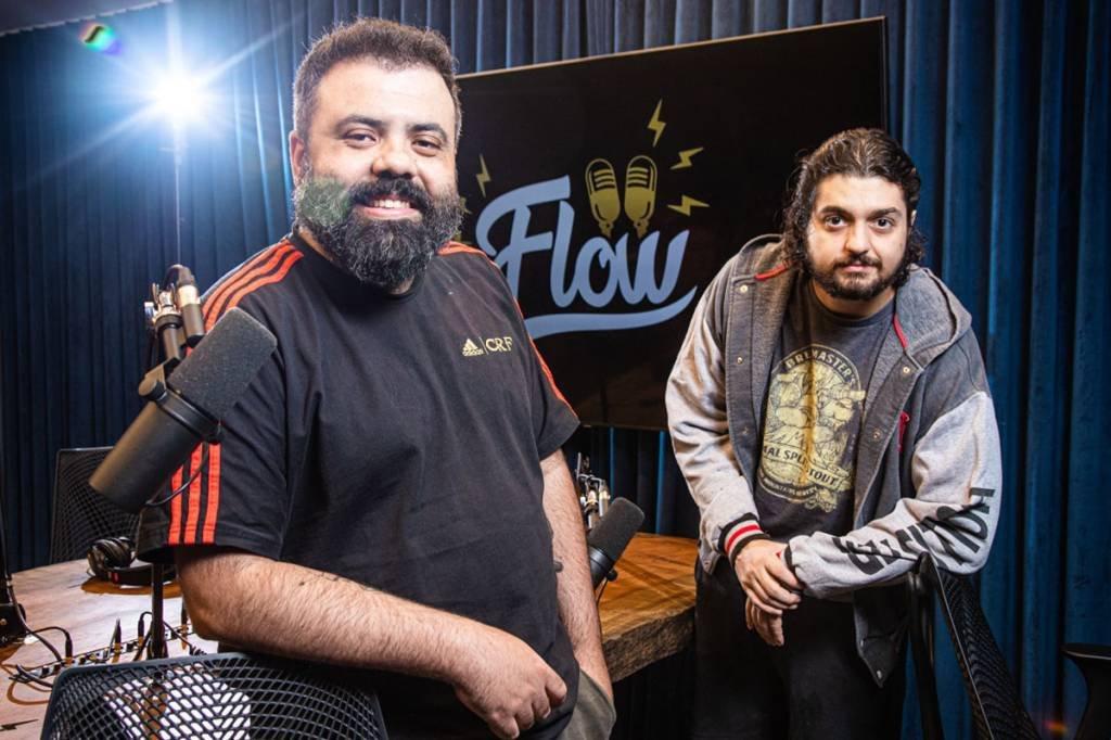Monark e Igor; Flow Podcast; podcast