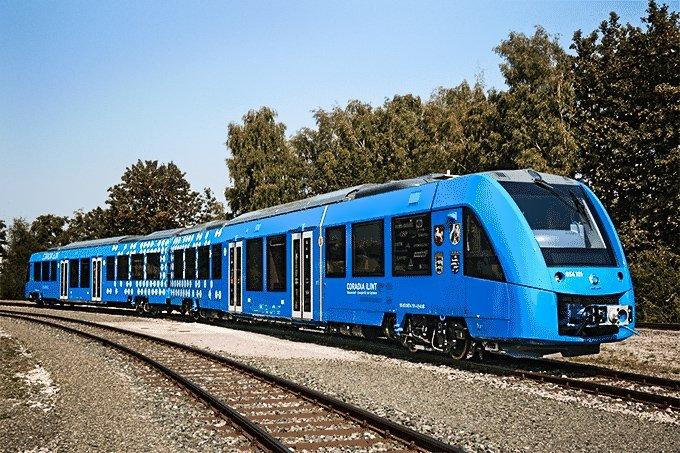 Trem movido a hidrogênio da Alstom