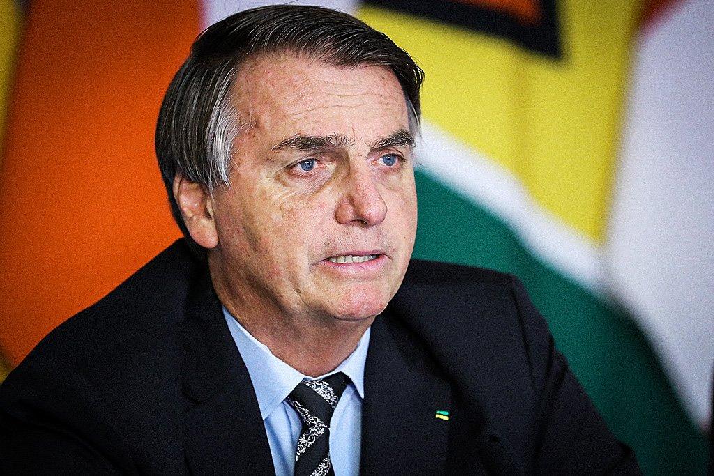 Bolsonaro durante VI Reunião Extraordinária de Presidentes do PROSUL
