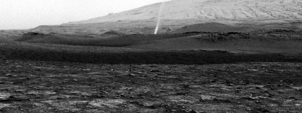 Curiosity grava redemoinho de poeira em 2020