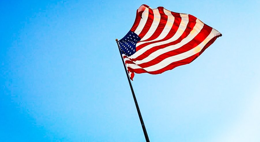 EUA - Bandeira dos Estados Unidos