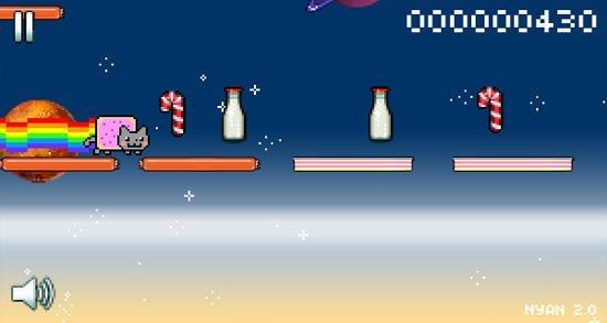 Jogo do Nyan Cat