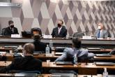 relator da CPI da Covid-19, senador Renan Calheiros (MDB-AL).