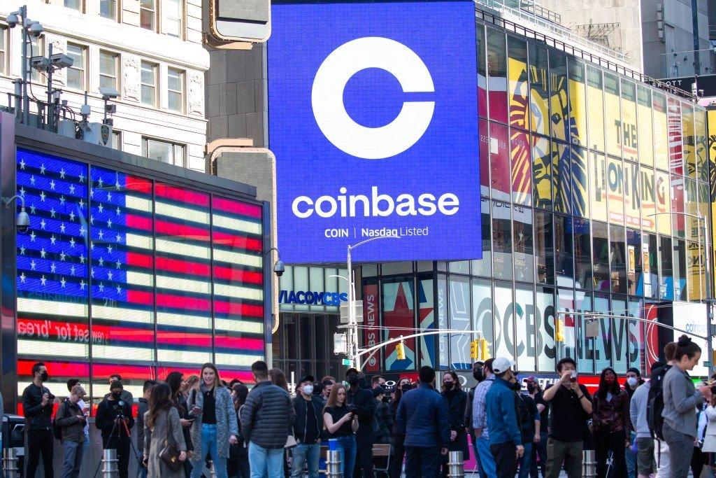Coinbase estreia na Nasdaq