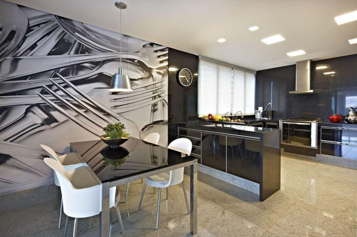 Gislene Lopes Three trends in kitchen decor and coatings