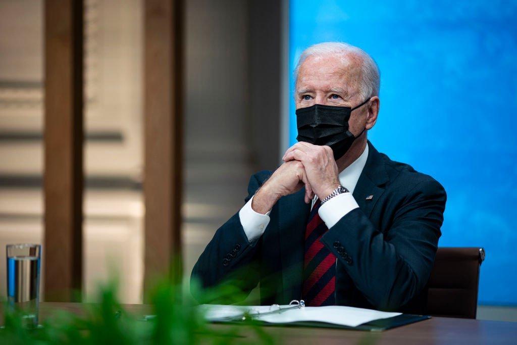 Presidente americano Joe Biden durante Cúpula do Clima