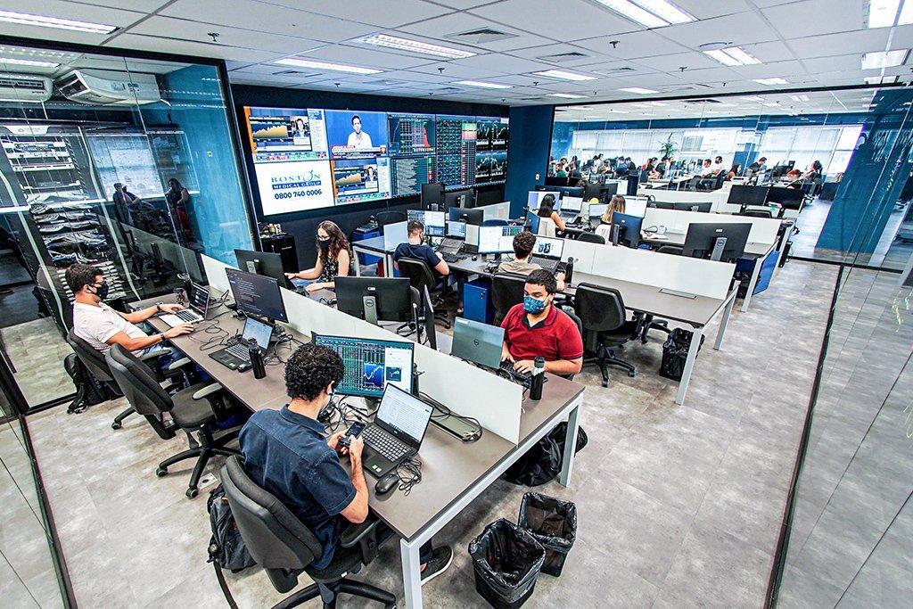 Novo escritório do Traders Club em São Paulo