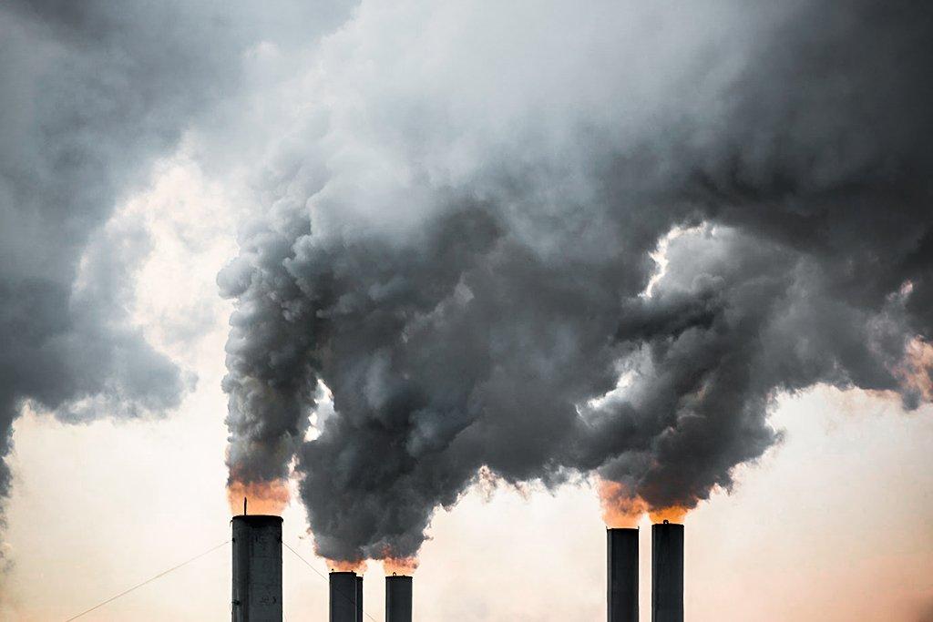 Poluição; carbono; emissão; pegada