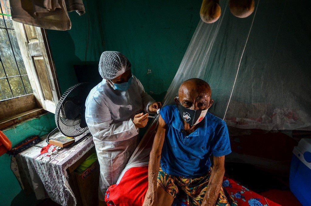 Campanha de vacinação no Pará