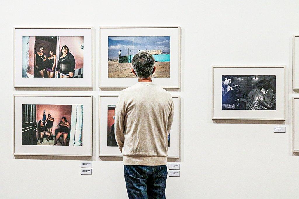 São Paulo - Exposição da fotógrafa chilena Paz Errázuriz em reabertura do Instituto Moreira Salles - IMS, na Avenida Paulista.