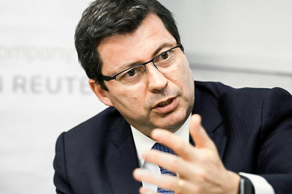 Paulo Rogerio Caffarelli, presidente do Banco do Brasil, durante entrevista à Reuters em São Paulo