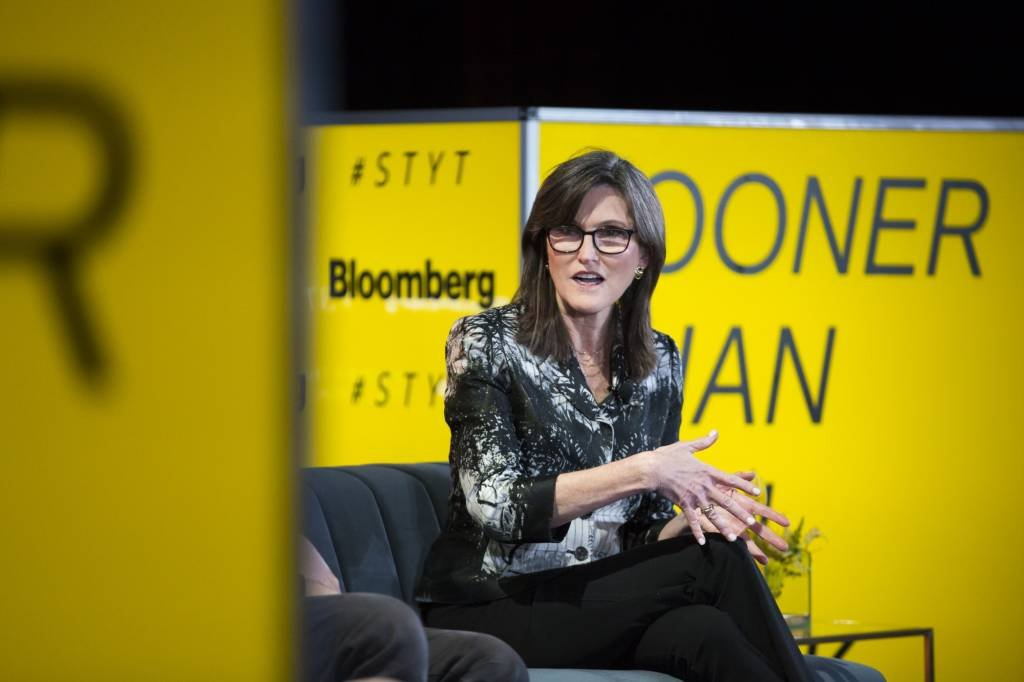 Cathie Wood, CEO e CIO da Ark Investment