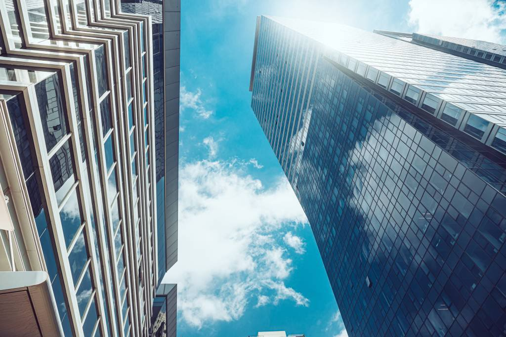 Arranha-céus comerciais