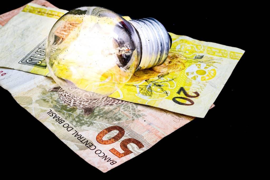Conta de luz; gastos com energia elétrica