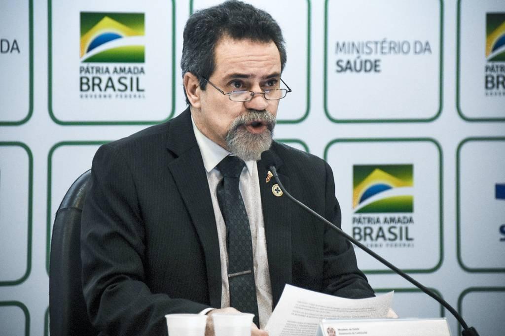 O ex-secretário-executivo do Ministério da Saúde, o coronel Élcio Franco