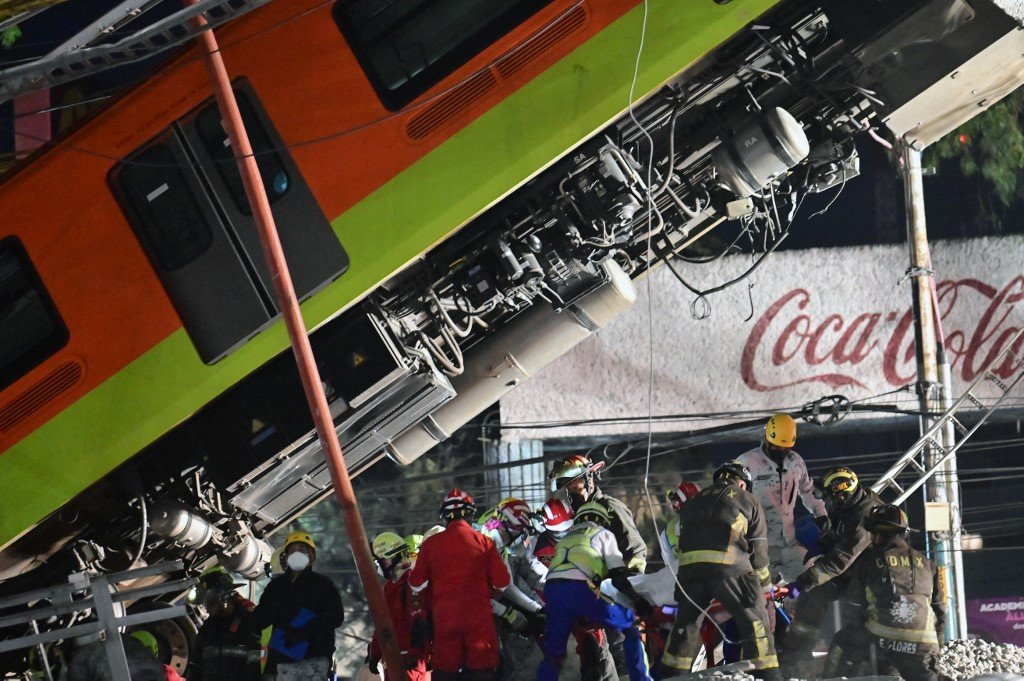 Acidente de metrô no México deixa ao menos 27 mortos