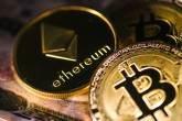 Bitcoin e ether, as duas maiores criptomoedas do mundo