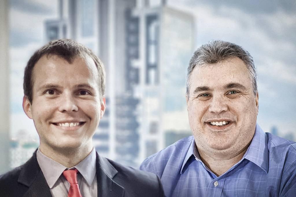 Gabriel Fidalgo e Rafael Zlot, da Plural Asset