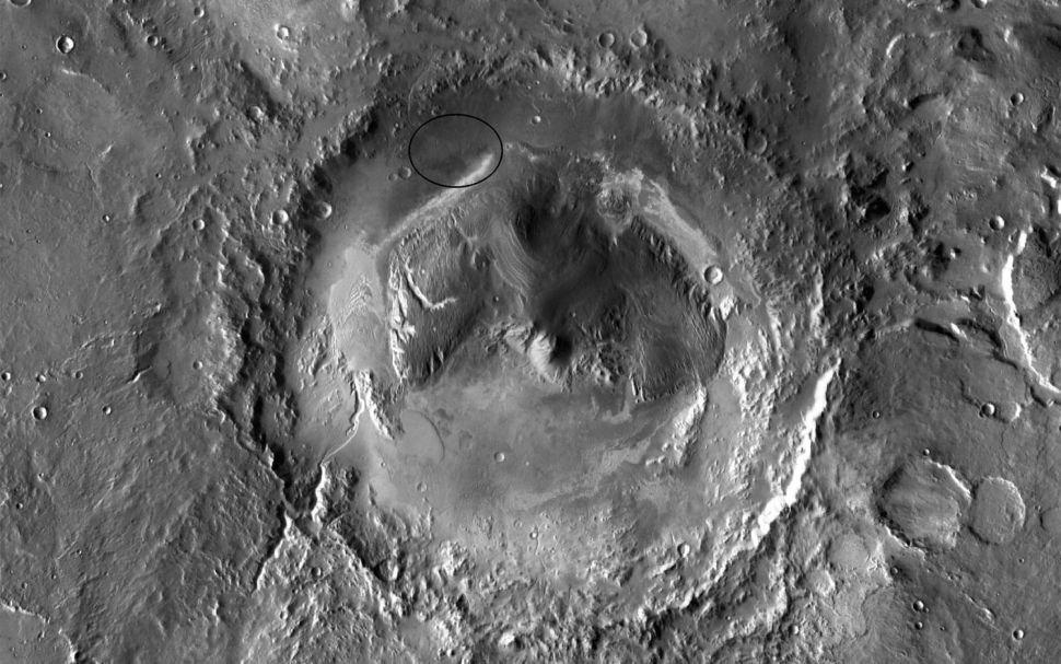 Cratera Gale e Monte Sharp (Aeolis Mons)