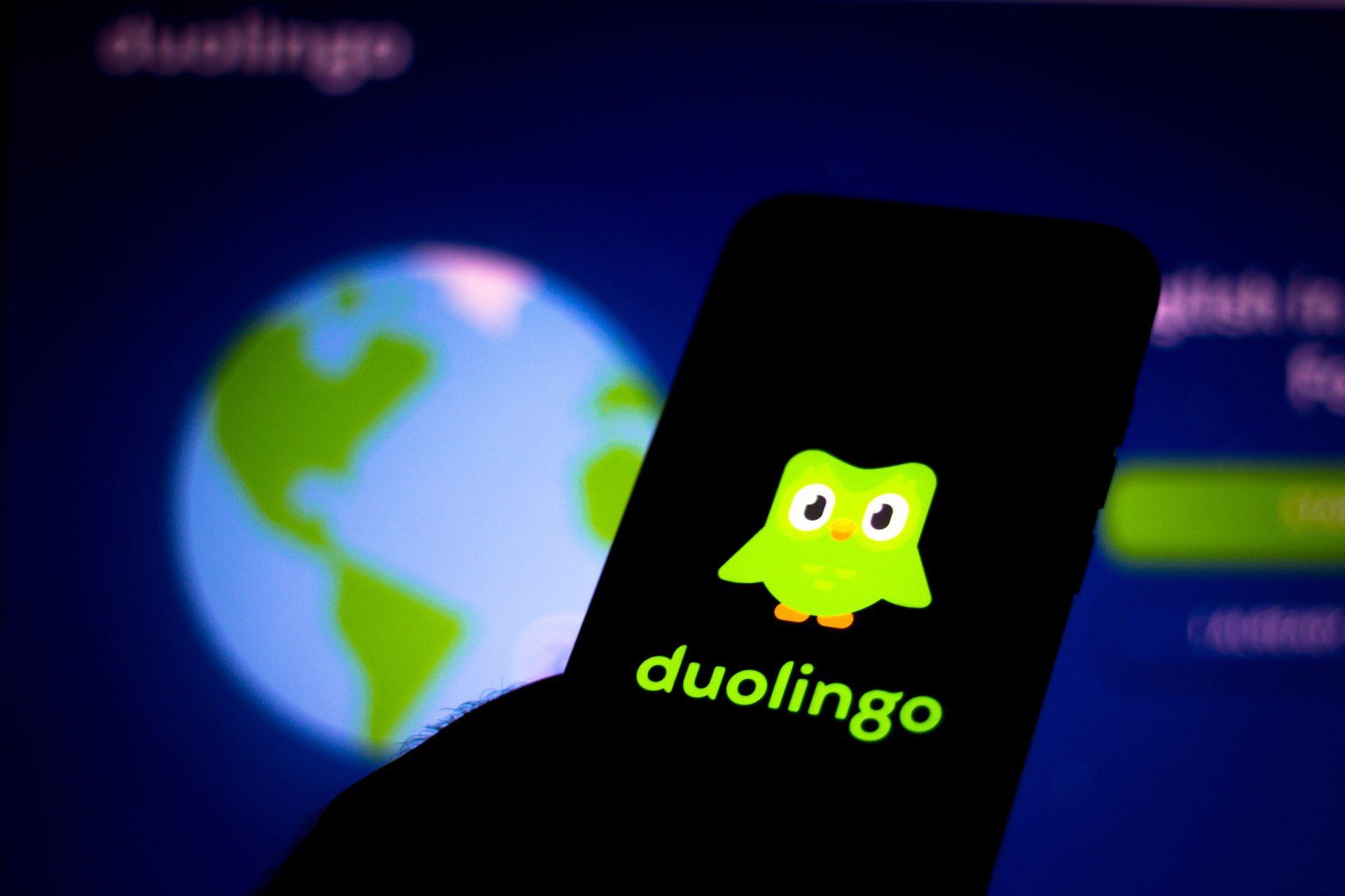 Plataforma Duolingo