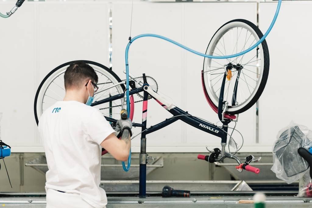 bicicletas fábrica