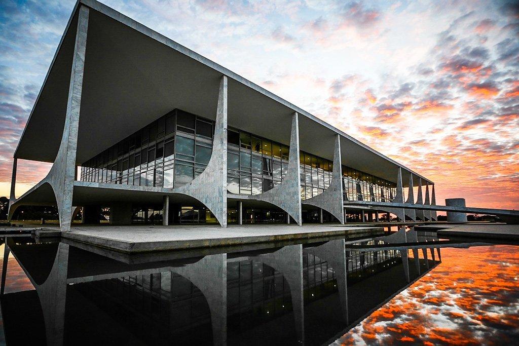 Palácio do Planalto é o local de trabalho da Presidência do Brasil