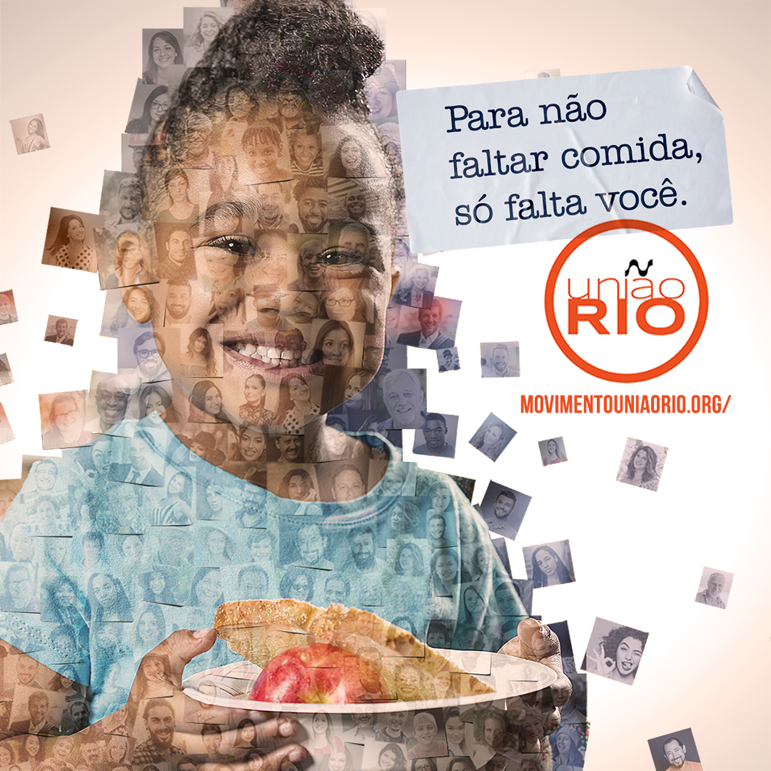 Movimento União Rio lança nova campanha para doações no combate à fome
