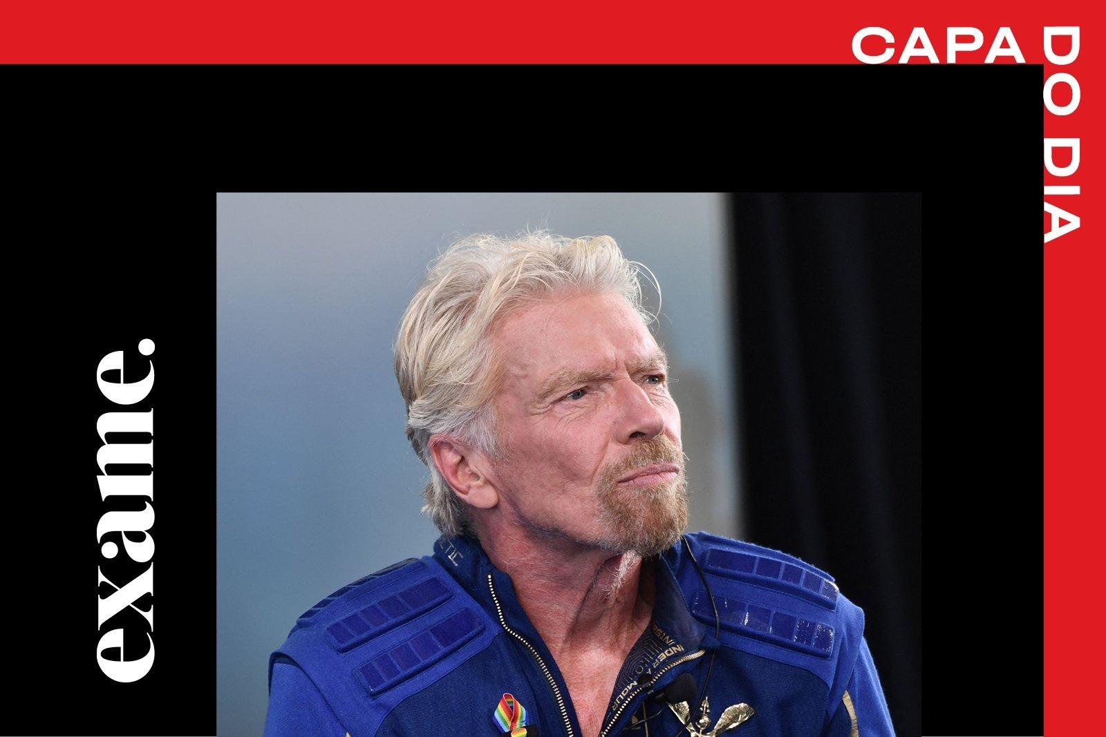 Richard Branson: bilionário fundador do Grupo Virgin viajou ao espaço