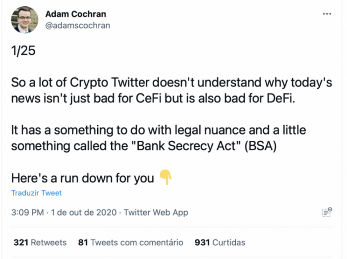 Tweet Adam Cochran