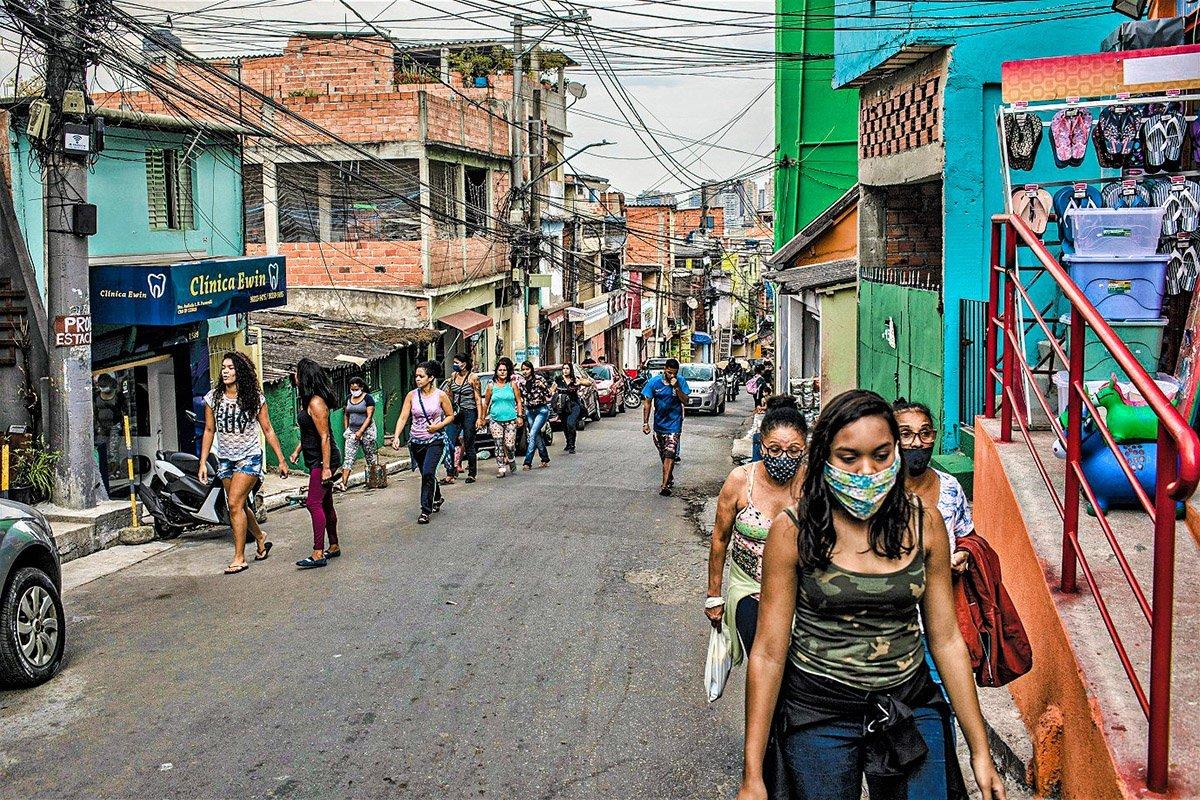 Na pandemia, moradores das maiores favelas mudam hábitos de saúde