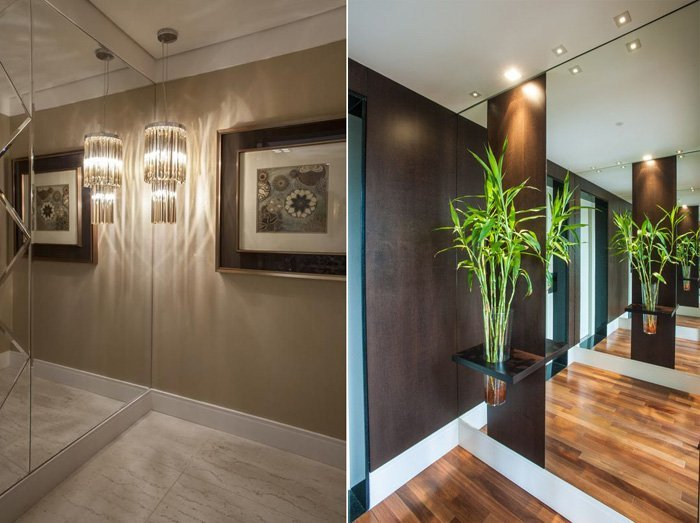 Rosana Pintor e Maricy Marcos Borges Entrance hall: charming and simple decoration for the house