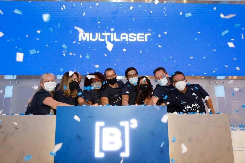 Evento de estreia das ações da Multilaser na B3