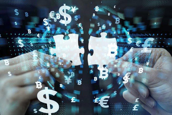 Tecnologia financeira, blockchain, criptomoedas