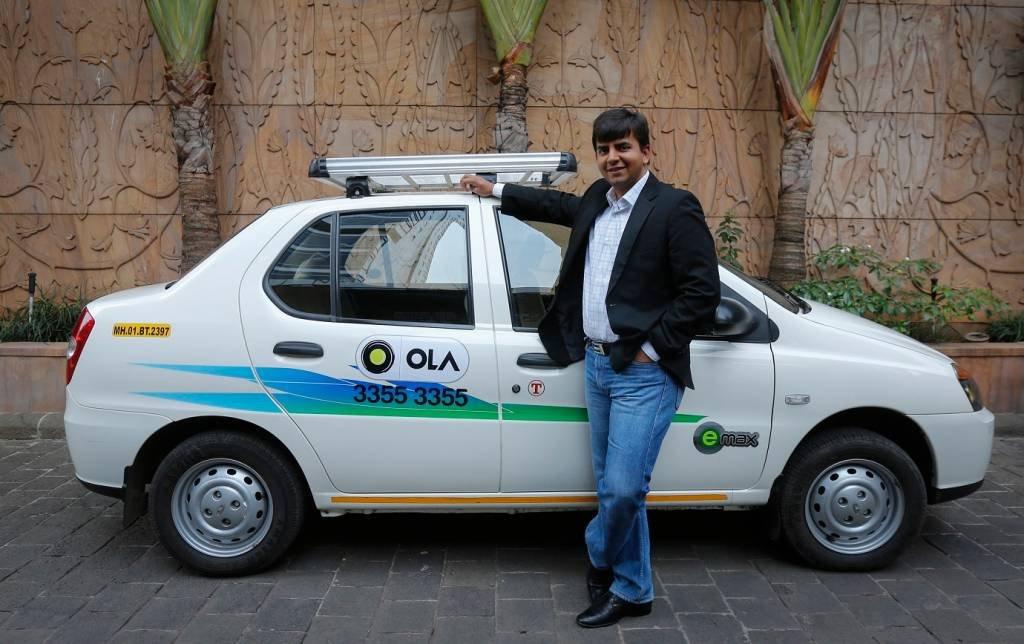 Bhavish Aggarwal, fundador da empresa indiana de transporte de passageiros por aplicativo Ola.
