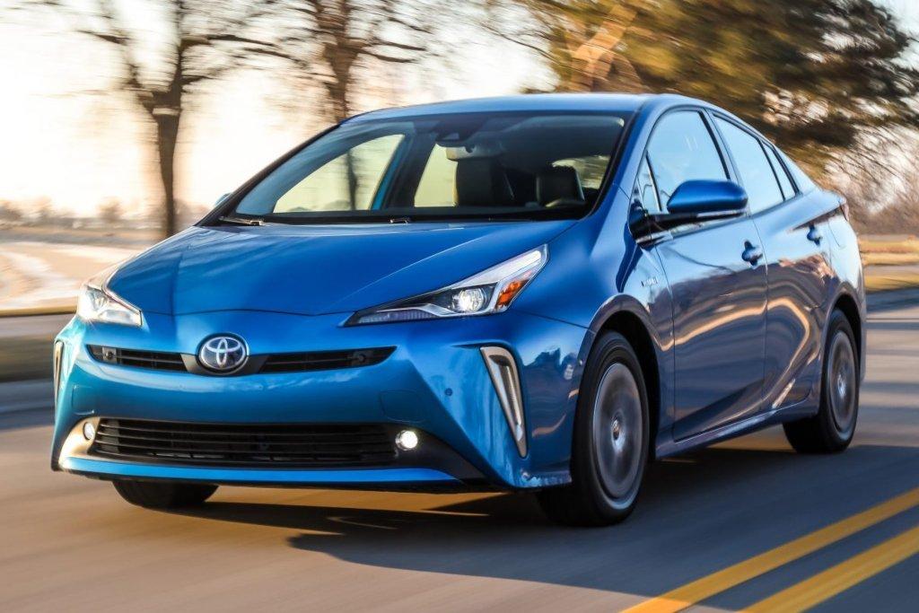 Toyota Prius azul