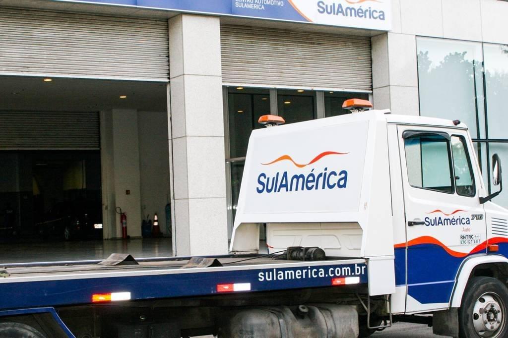 Caminhão da SulAmérica