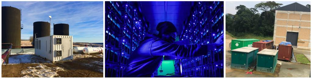 Mineradoras portáteis de bitcoin