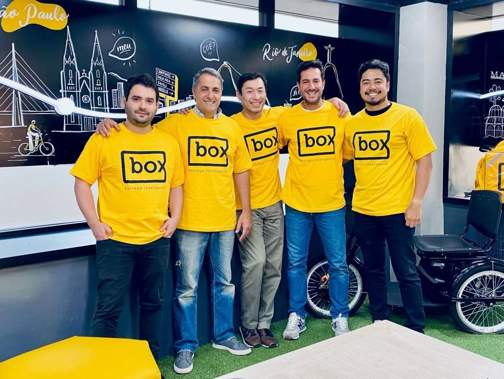 A diretoria da startup Box Delivery