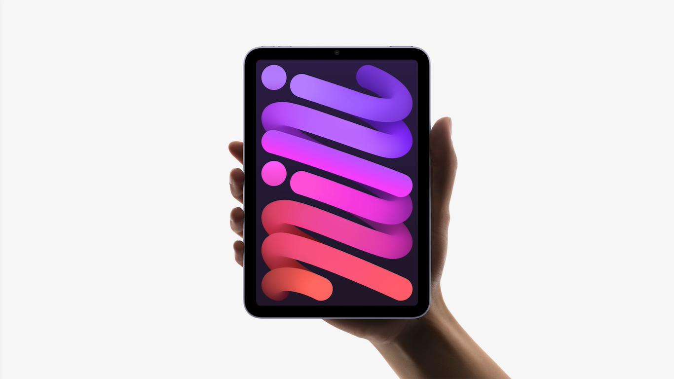 Novo iPad Mini, lançado em 14 de setembro de 2021