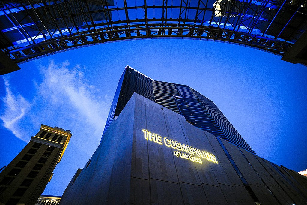 Hotel e cassino The Cosmopolitan, em Las Vegas, terão novos donos | Foto: Jacob Kepler/Bloomberg