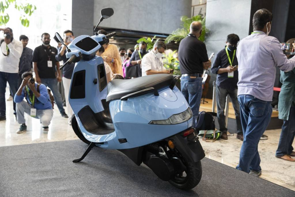 Empresa Ola, se scooters