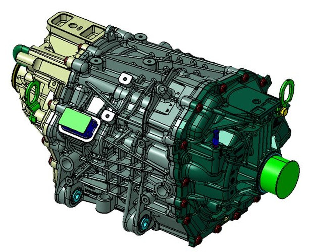 Ford Eluminator motor elétrico aftermarket