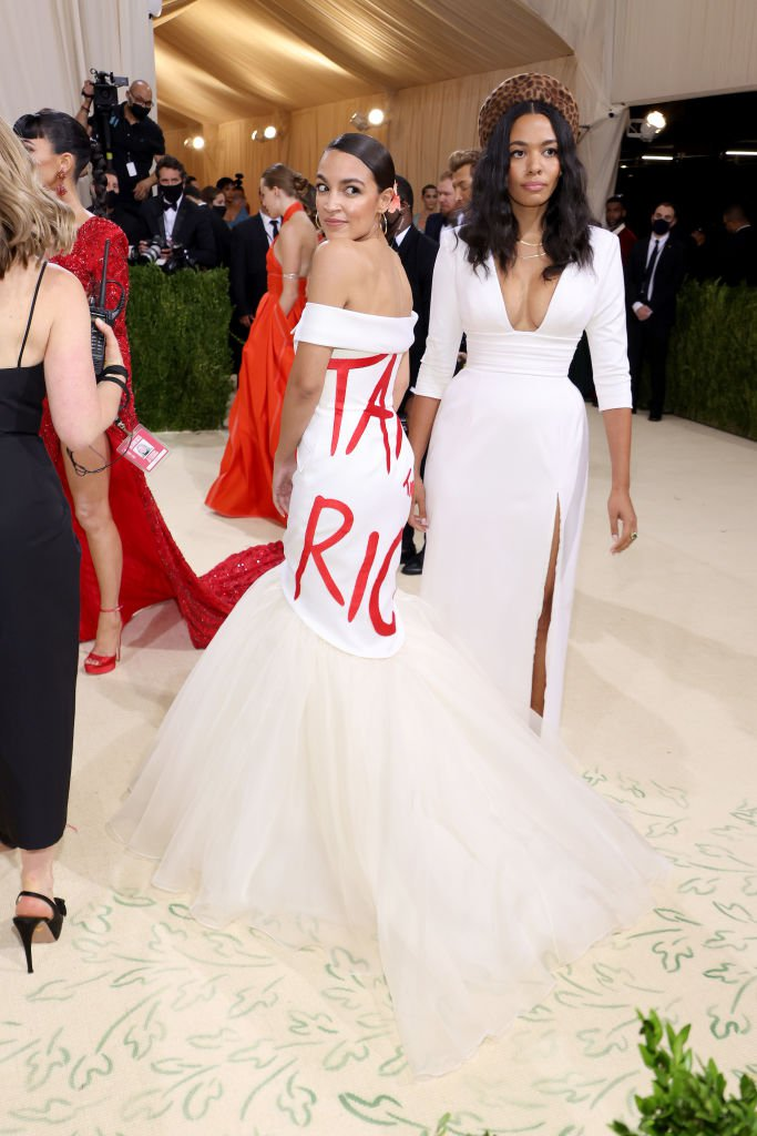 GettyImages 1340140016 Lewis Hamilton bought a table for black designers to attend the Met Gala